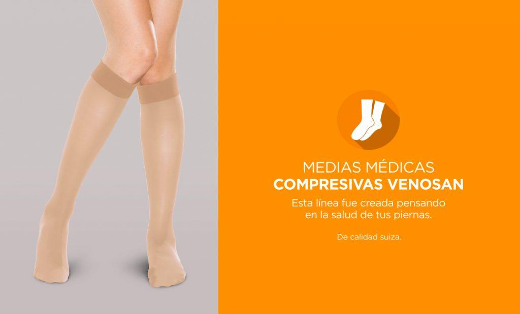 Medias médicas compresivas Venosan